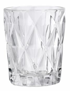 Trinkglas DIAMOND Clear von Nordal