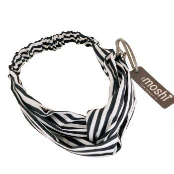 Haarband Candy Black Strip von the moshi