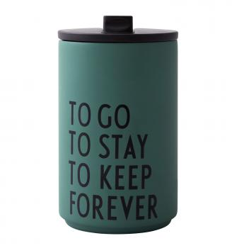 Thermotasse ToGo ToStay von Design Letters